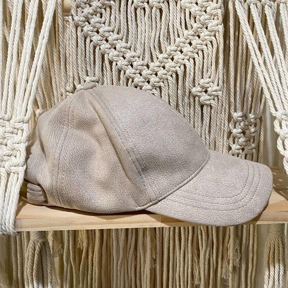 Free People Williamsburg Faux Suede Hat Cap